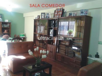 Departamento en Venta en Cochabamba Colcapirhua Una cuadra al norte Av. Blanco Galindo km. 7,5