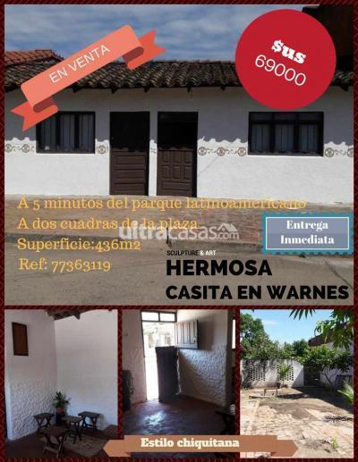 Casa en Venta en Santa Cruz Warnes