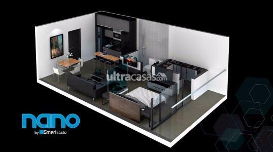 Departamento en Venta SMART STUDIO - 32m2 - Equipetrol e Isuto Laplata 8 Este Foto 4