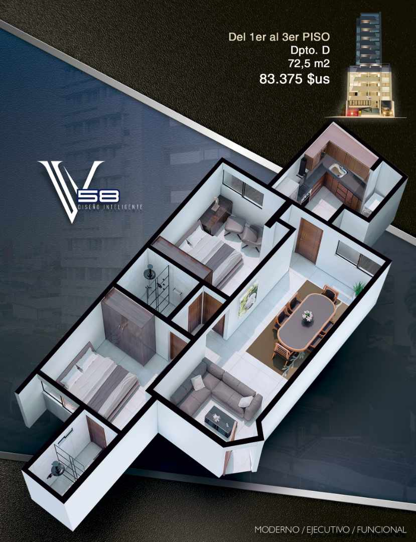 Departamento en Venta Av. Velarde #58 Foto 9