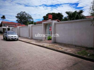 Casa en Alquiler en Santa Cruz de la Sierra 3er Anillo Sur Avenida la Barranca