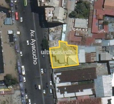 Casa en Venta en Cochabamba Centro Av. Ayacucho entre Aroma y Montes