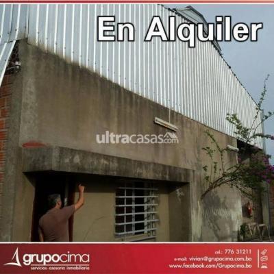 Galpón en Alquiler en Santa Cruz de la Sierra Carretera Cotoca URBANIZACIÓN COTOCA