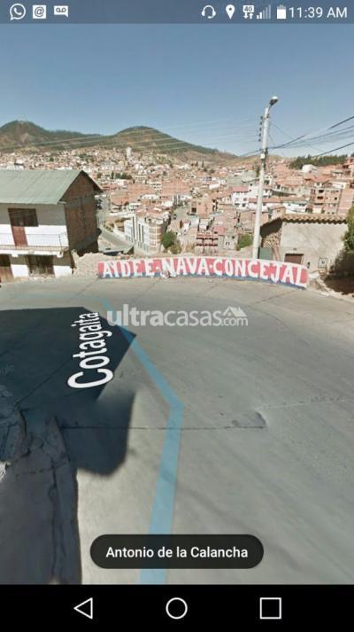 Terreno en Venta en Sucre Sucre Calle cotagaita
