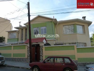 Casa en Alquiler en La Paz Sopocachi M. Pinilla y Ascarrunz