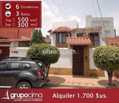 Casa en Alquiler en Santa Cruz de la Sierra 3er Anillo Norte ZONA NORTE AV BANZER ENTRE 2DO Y 3ER ANILLO