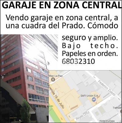 Galpón en Venta en La Paz Centro GARAJE PARQUEO CENTRO LA PAZ