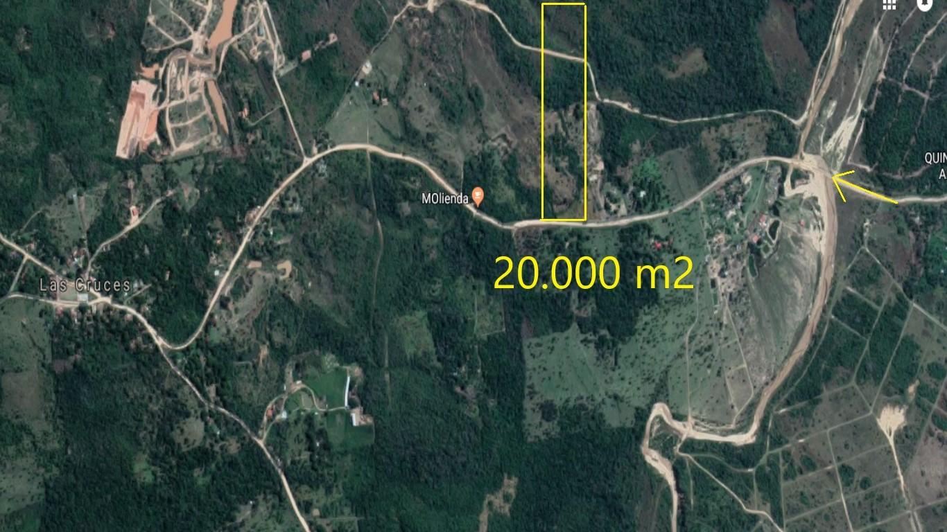 Terreno en Venta Camino a las cruces municipio de Porongo Foto 1