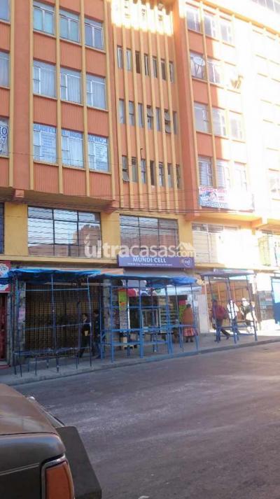 Oficina en Anticretico en La Paz Centro Zona central calle figueroa frente al mercado Lanza