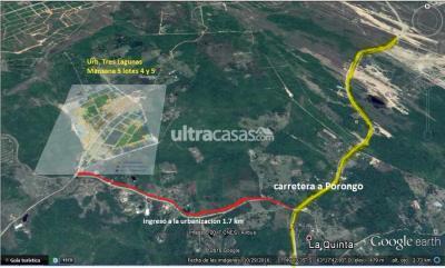 Terreno en Venta en Santa Cruz de la Sierra Urubó Urb. 3 Lagunas Zona Urubo