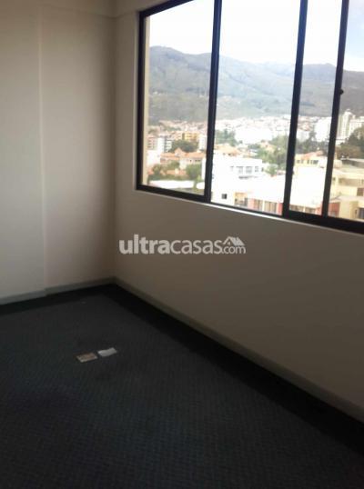 Oficina en Alquiler en Cochabamba Noroeste Av. SANTA CRUZ Y PEDRO BLANCO OFICINA EN LA MEJOR UBICACION DE COCHABAMBA
