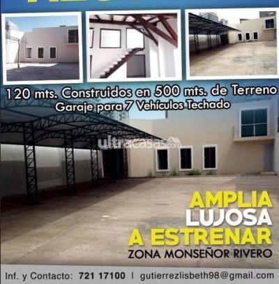 Oficina en Venta en Santa Cruz de la Sierra 1er Anillo Norte Calle Cañada Strongest Av. Monseñor Rivero lado del comite cívico Santa Cruz
