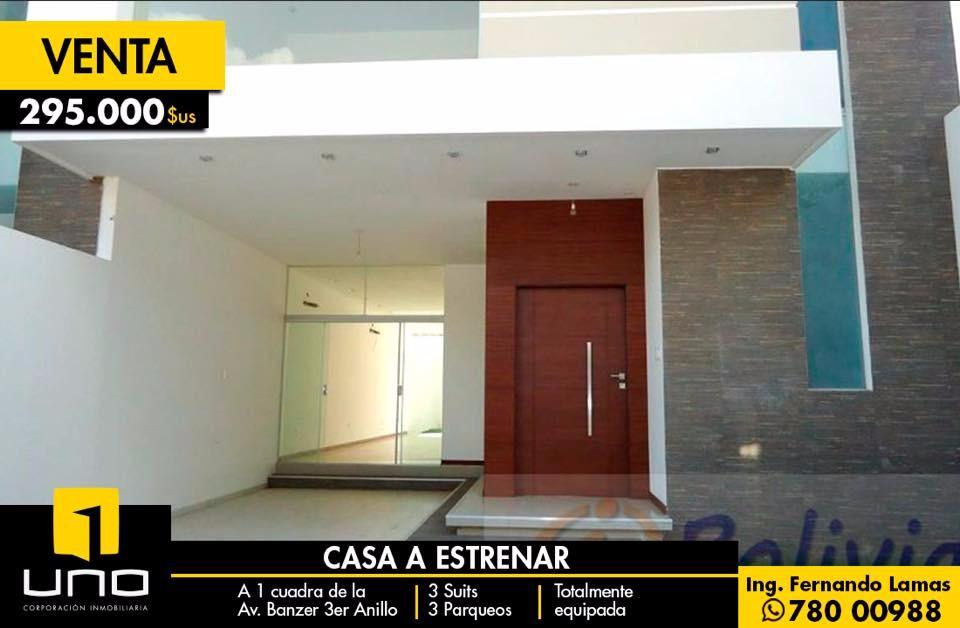 Casa en Venta Av. Banzer 3ro anillo externo Foto 1