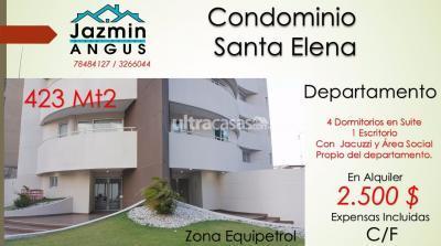 Departamento en Alquiler en Santa Cruz de la Sierra 5to Anillo Este CONDOMINIO SANTA ELENA