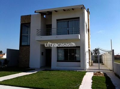 Casa en Alquiler en Santa Cruz de la Sierra Carretera Norte Casa amoblada de 4 dormitorios en condominio Valle de Cartago