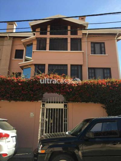 Casa en Alquiler en La Paz Aranjuez Calle Acacias Nro.9 Condominio La Castellana - Aranjuez