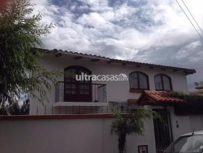 Casa en Venta en La Paz Achumani ACHUMANI CALLE 1 EL PORVENIR