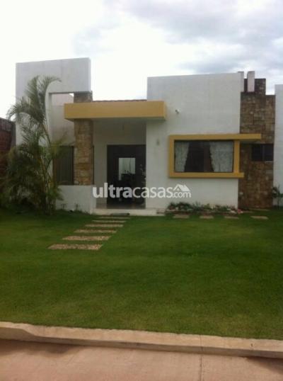 Casa en Alquiler en Santa Cruz de la Sierra Carretera Norte  Hermosa casa Zona Norte