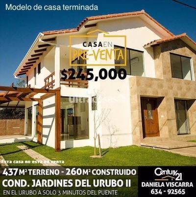 Casa en Venta en Santa Cruz de la Sierra Urubó URUBO, Condominio Jardines del Urubo II