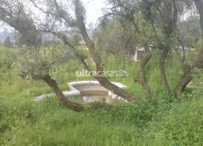 Terreno en Venta en Quillacollo Quillacollo Charingo - Vinto