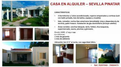 Casa en Alquiler en Santa Cruz de la Sierra Carretera Norte km 9 1/2