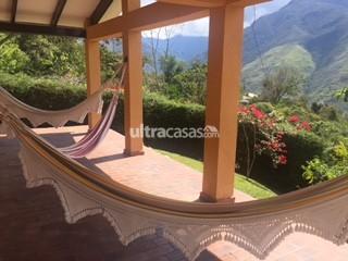 Casa en Venta en Coroico Coroico CASA DE CIUDAD EN EL CAMPO A 15 MINUTOS DE COROICO