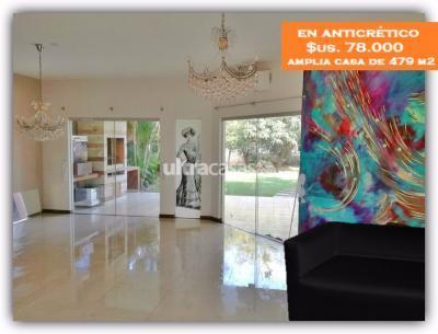 Casa en Anticretico en Santa Cruz de la Sierra 4to Anillo Este  EN ANTICRÉTICO ¡Única, Asombrosa y Especial Casa! $78.000