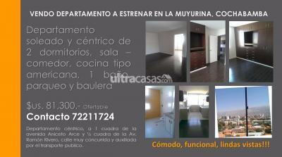 Departamento en Venta en Cochabamba Muyurina