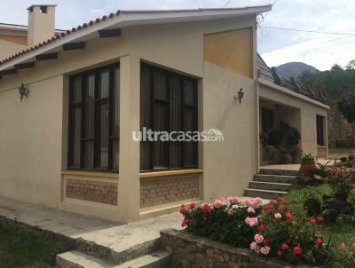 Casa en Venta en Cochabamba Sacaba Urbanización Cerrada Sidumss Norte Plan B Calle Alan Jameson # 70