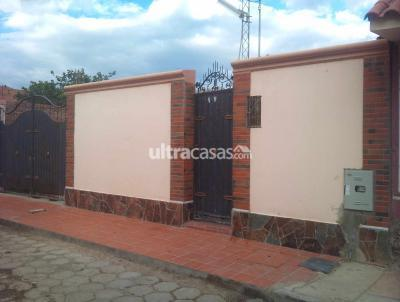 Casa en Venta en Quillacollo Quillacollo Barrio 12 de enero, calle 1