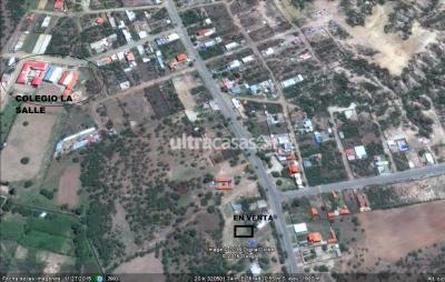 Terreno en Venta en Tarija Villa Busch zona la tablada