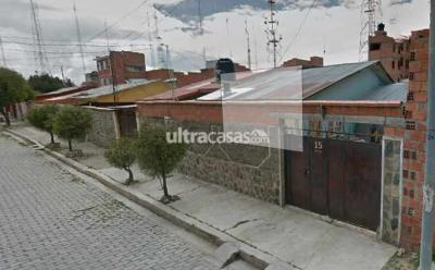 Casa en Venta en El Alto Cuidad Satélite Urbanización Tejada Alpacoma entre Av. Del policia y Av. Circunvalación . A dos cuadras del supermercado hipermaxi