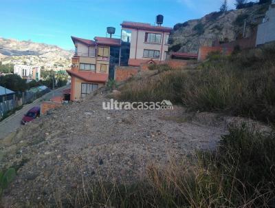 Terreno en Venta en La Paz Obrajes Calle Buganvillas s/n a media cuadra de la costanera