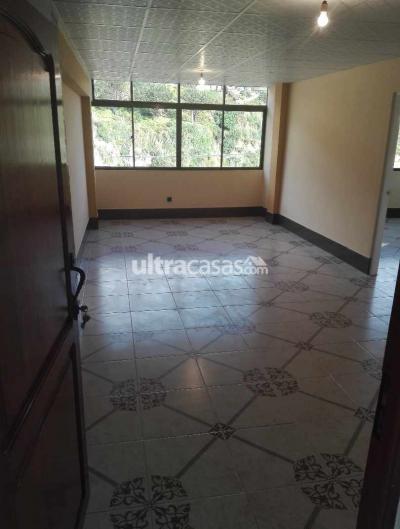 Departamento en Alquiler en La Paz Villa Fatima Av. Bicentenario Calle Florida No. 44