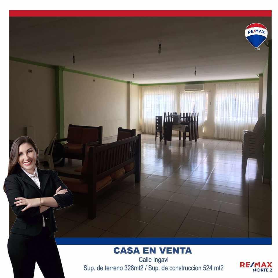 Casa en Venta Calle Ingavi (Entre Cordillera y Callau) Foto 2