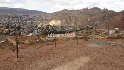 Terreno en Venta en La Paz Seguencoma Urbanizacion Villa Copacabana