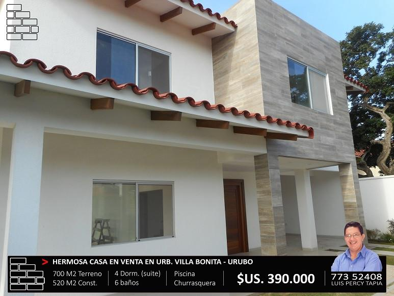 Casa en Venta Villa Bonita - Zona del Urubó Foto 5