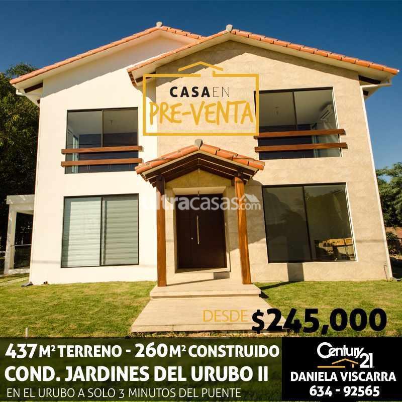Casa en Venta URUBO, Condominio Jardines del Urubo II Foto 19