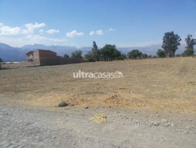 Terreno en Venta en Cochabamba Quillacollo COCHABAMBA - VINTO ZONA MACHAJMARKA
