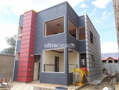 Casa en Venta en Cochabamba Coña Coña Barrio coña coña sobre av dirbinig y av Sexta acera norte