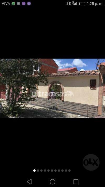 Casa en Venta en Tarija SENAC Av catoira a dos cuadras de colegio Bolivia antes de llegar a narcóticos.
