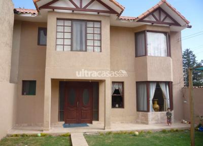 Casa en Venta en Cochabamba Tiquipaya Tiquipaya