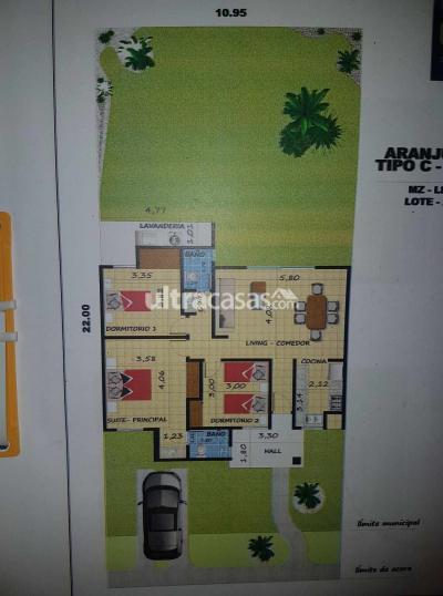 Casa en Alquiler en Santa Cruz de la Sierra Carretera Norte Carretera al norte km 9