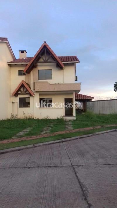 Casa en Anticretico en Santa Cruz de la Sierra 8vo Anillo Norte Urb. Remanzo II. Condominio Villa Pamphily