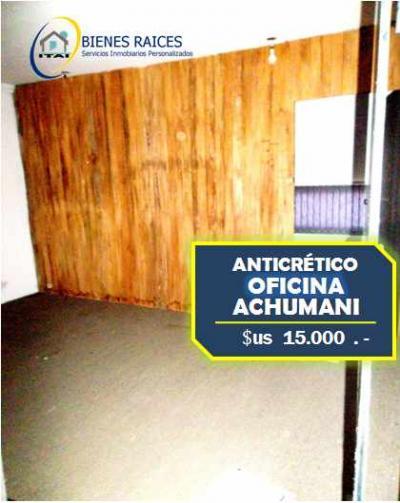 Oficina en Anticretico en La Paz Achumani OFICINA EN ANTICRÉTICO - Achumani