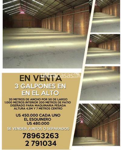 Galpón en Venta en El Alto Villa Adela VIA A VIACHA