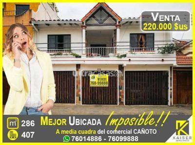 Casa en Venta en Santa Cruz de la Sierra 1er Anillo Norte prolongacion Buenos Aires