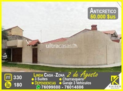Casa en Anticretico en Santa Cruz de la Sierra 6to Anillo Norte AVENIDA 2 DE AGOSTO ENTRE 6TO Y 7MO ANILLO