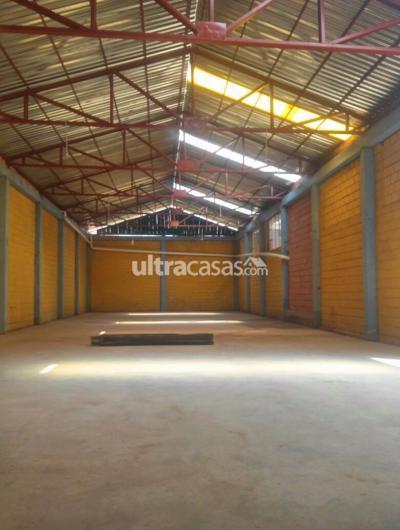 Galpón en Alquiler en El Alto 16 de Julio Zona eliodoro camacho av julio cesar valdez
