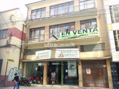 Casa en Venta en Cochabamba Centro Nathaniel Aguirre entre Aroma y Uruguay